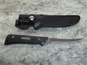 SCHRADE GF45 BASS FILLET KNIFE WITH ORIGINAL SHEATH